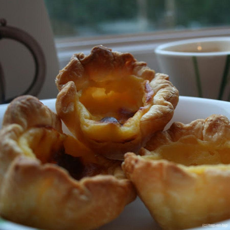 Pastéis de nata ofte Portugese roomtaartjes