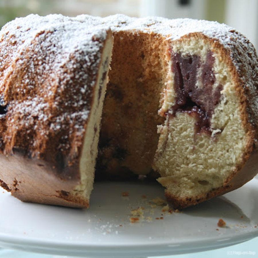 Confituurcake voor een zalige zondag… of maandag… of… of… of vrijdag…