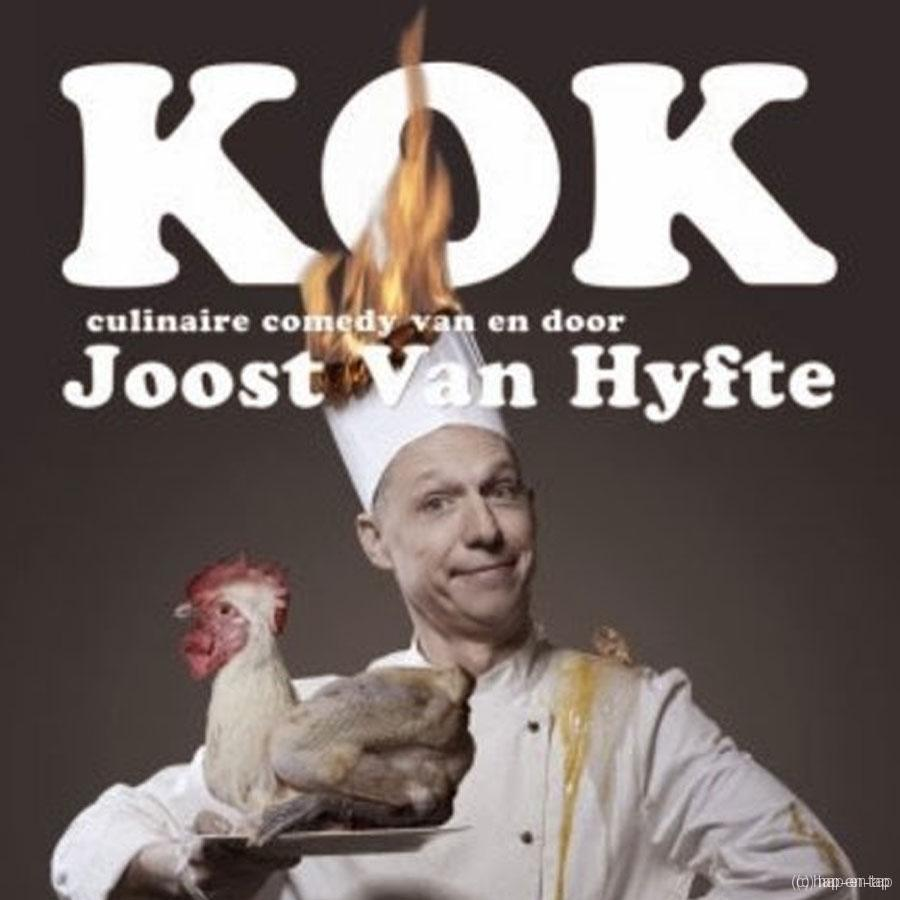 WIN! WIN! WIN! De DVD Kok, een culinaire comedy van en door Joost Van Hyfte