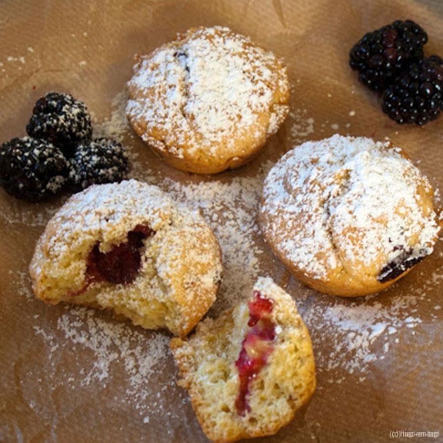 Foodblogswap: Bramenmuffins met citroen