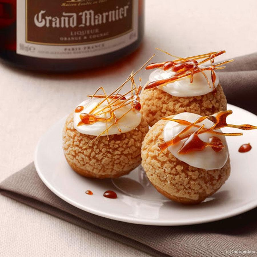 Suzette soesjes met Grand Marnier