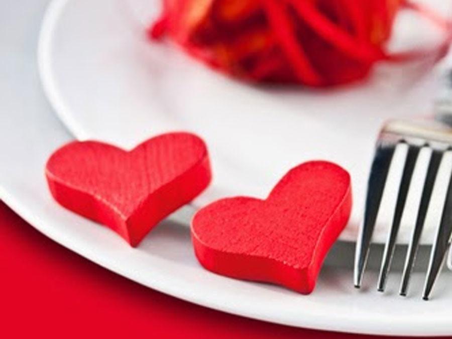 Valentijnsmenu 2013