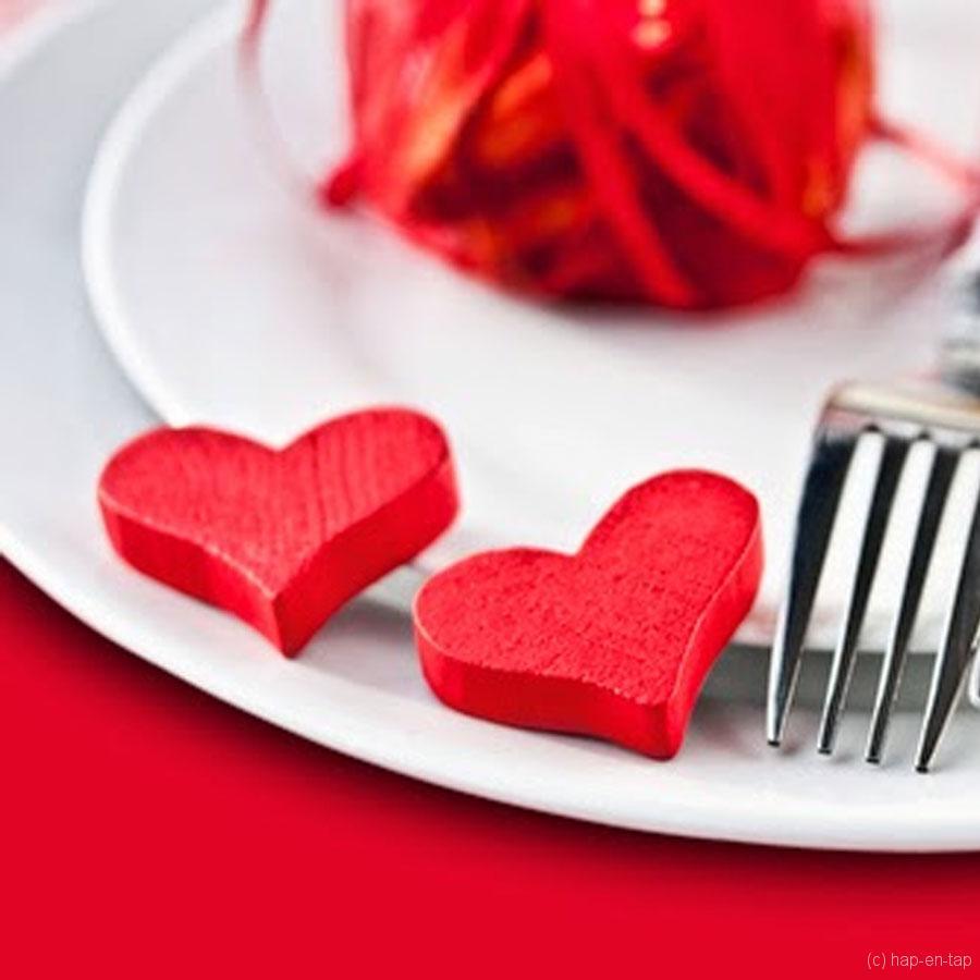 Valentijnsmenu 2015