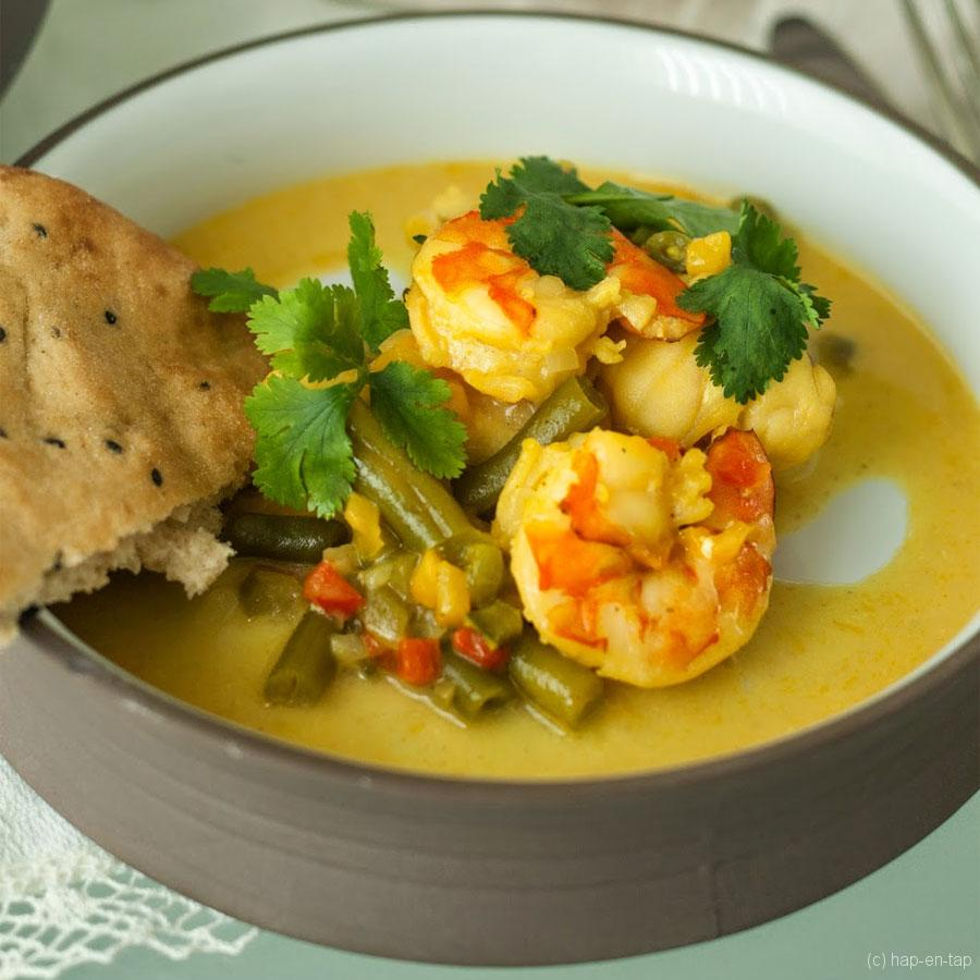 Foodblogswap: Indische viscurry