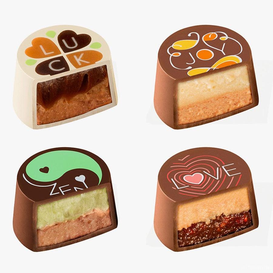 Moederdag? Wish je mama Luck, Joy, Zen & Love met chocola van Godiva