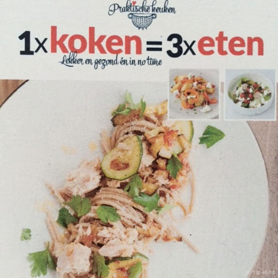 Christine Van Imschoot, 1 x koken = 3 x eten