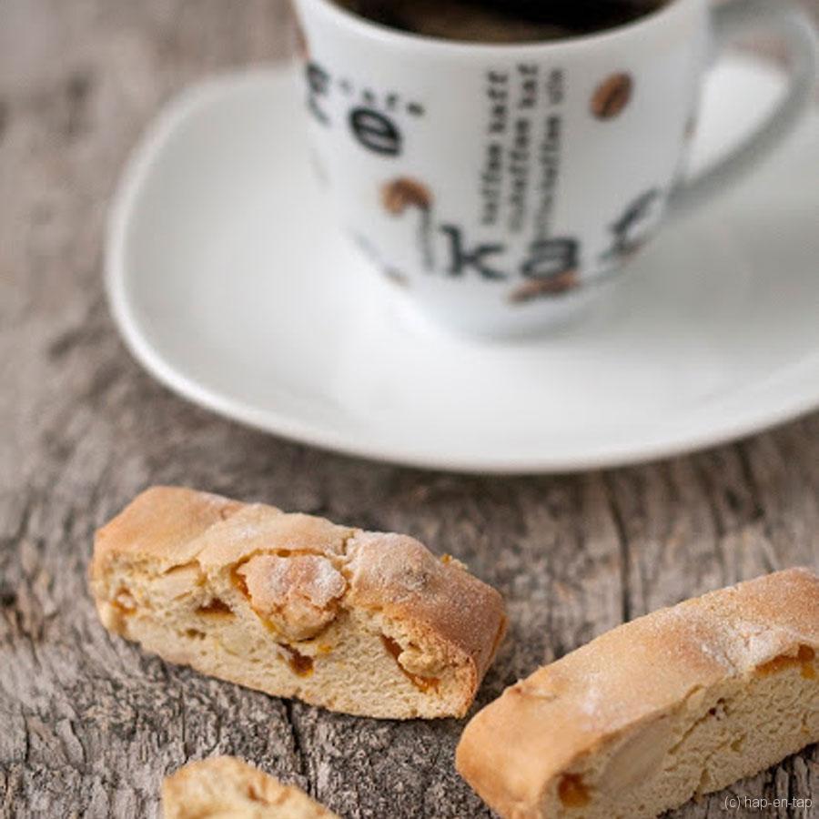 Amandel biscotti (of cantuccini)