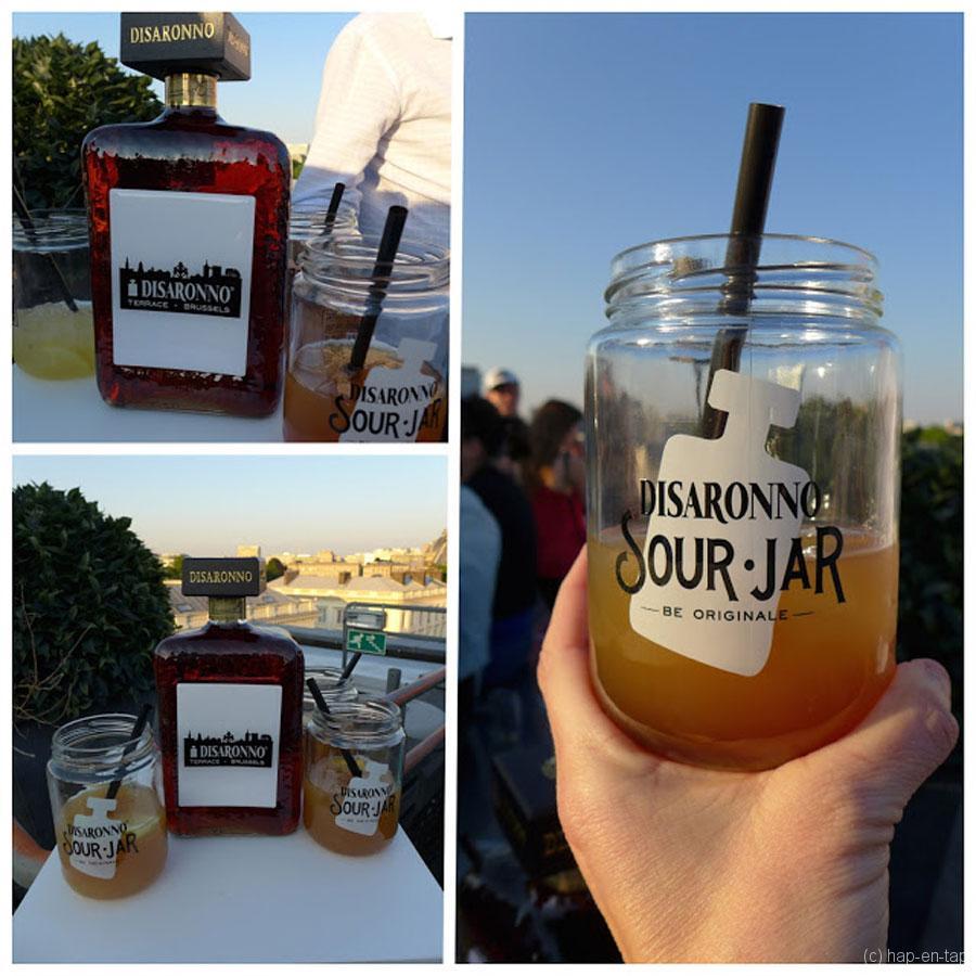 Summer vibes en sour cocktails op het dak van Brussel