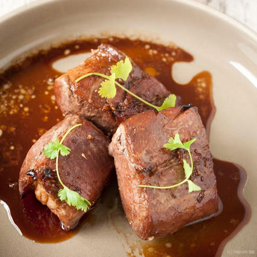 Varkenshaasje met honing en gember – Knack Weekend #16
