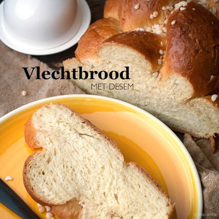 Vlechtbrood met desem