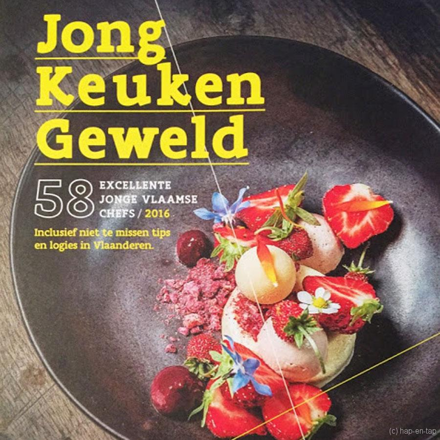 Jong Keukengeweld pakt uit met 58 talentvolle Vlaamse chefs