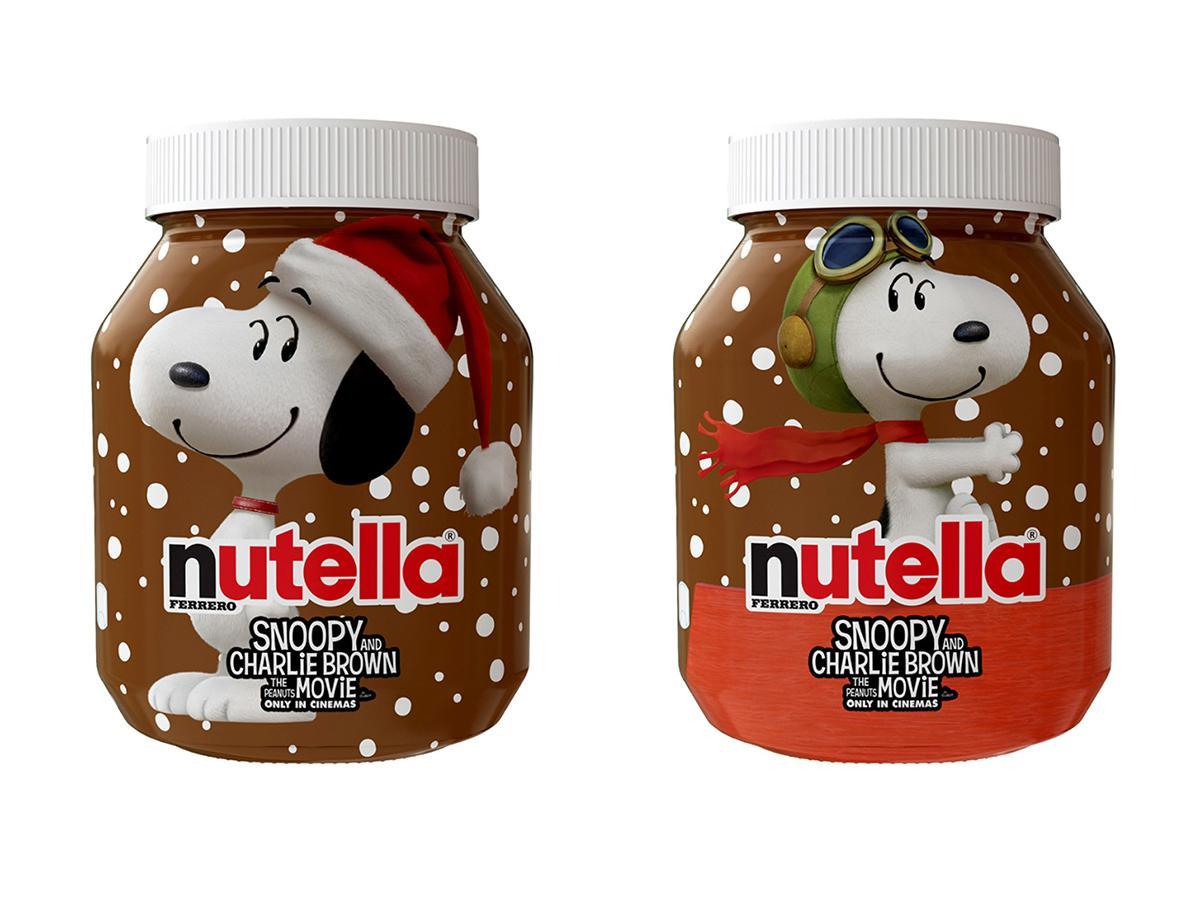 Nutella Limited edition Snoopy