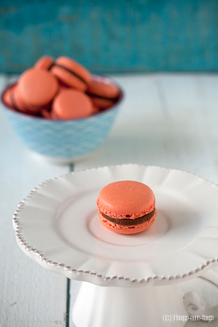 Perfecte macarons de Paris