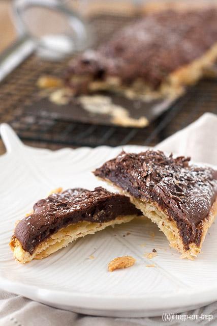 Brownie taart met pecannoten