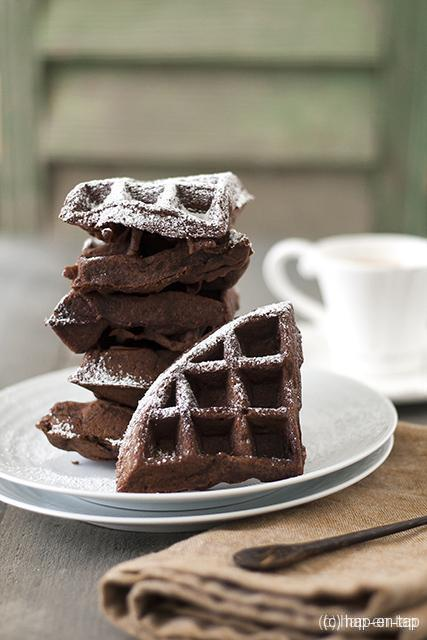 Brownie wafels