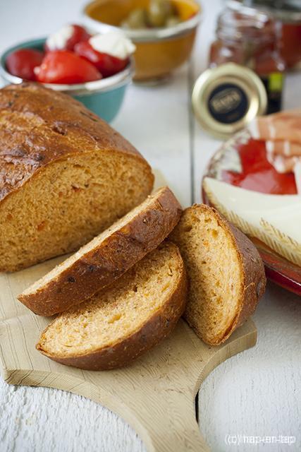 Provençaals tomatenbrood