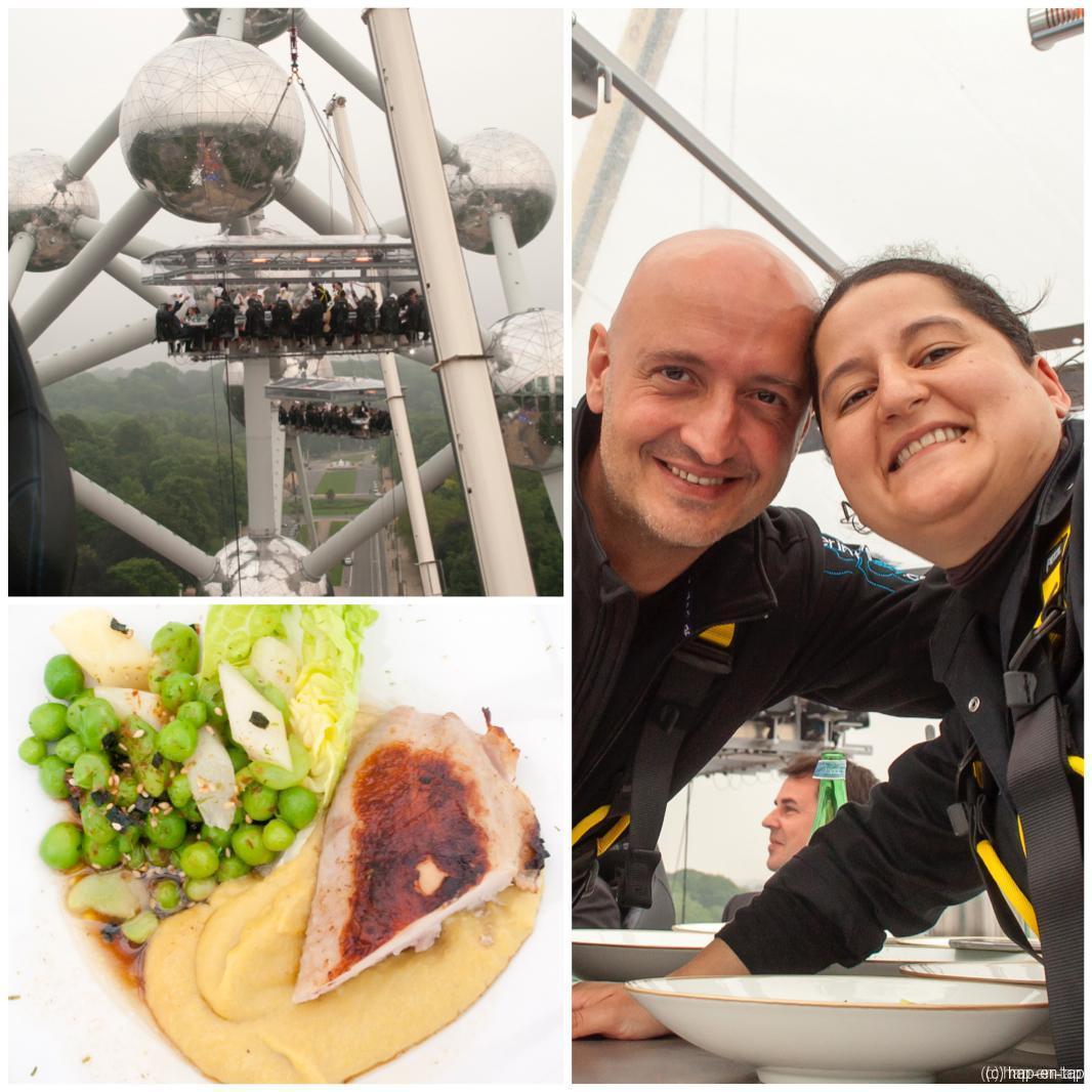 10 tafels met 10 chefs voor 10 jaar Dinner in the Sky