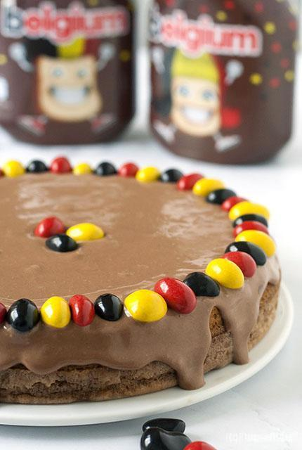 Magische Nutella taart