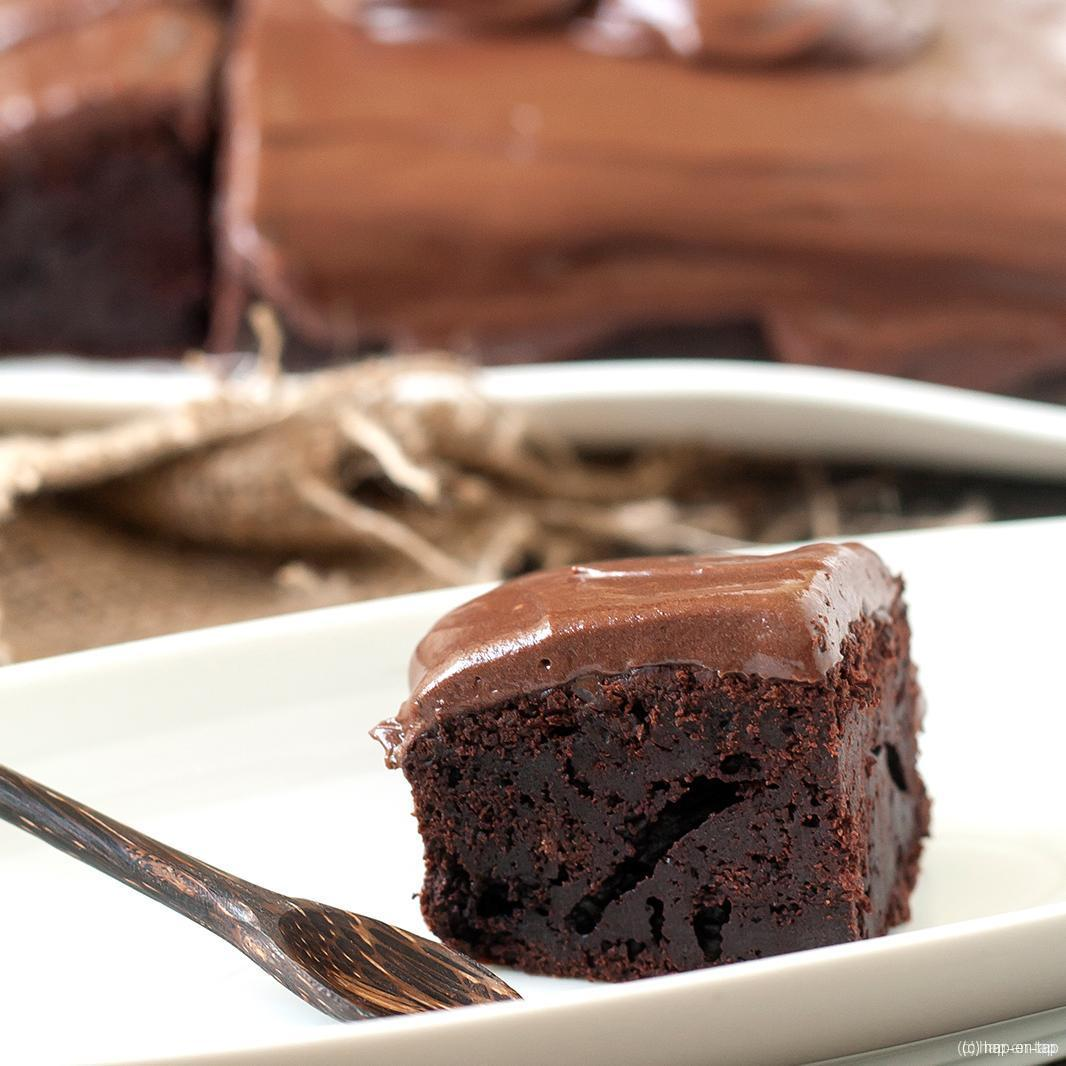 Smeuïge chocoladecake met… mayonaise