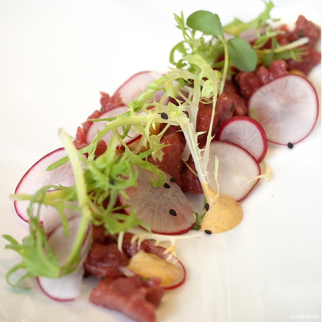 Tartaar van rundvlees met verse kruiden