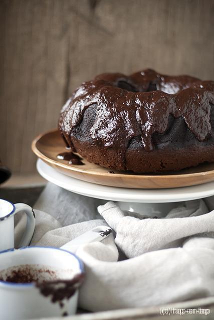 De beste chocolade bundt cake