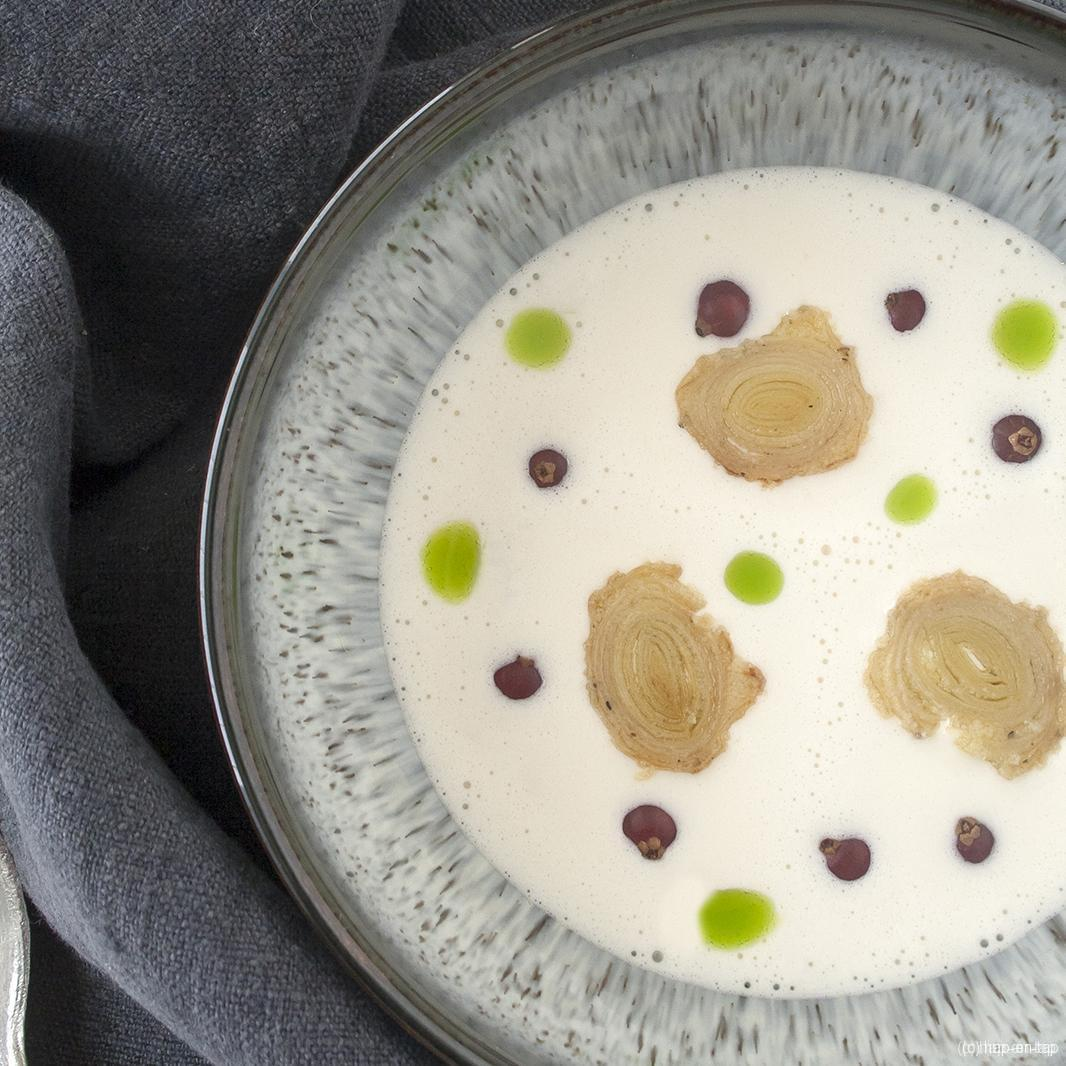 Ajo blanco (witte gazpacho uit Andalusië)