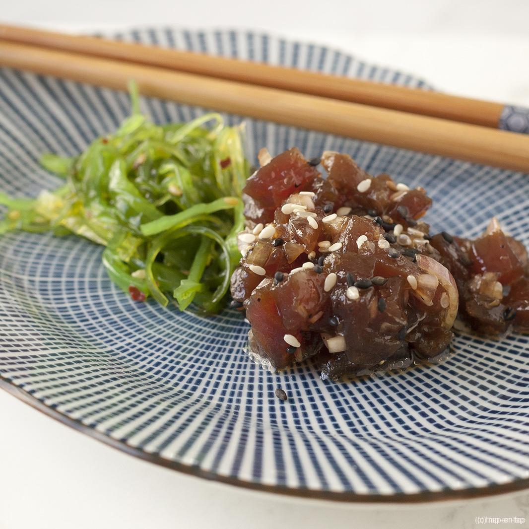 Tartaar van tonijn met sesam