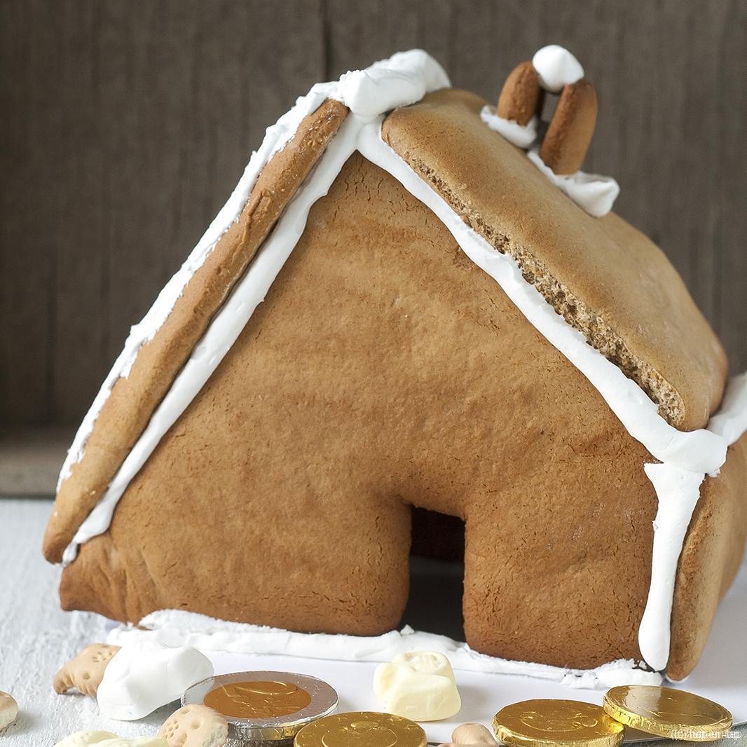 Lebkuchenhuisje voor Sinterklaas