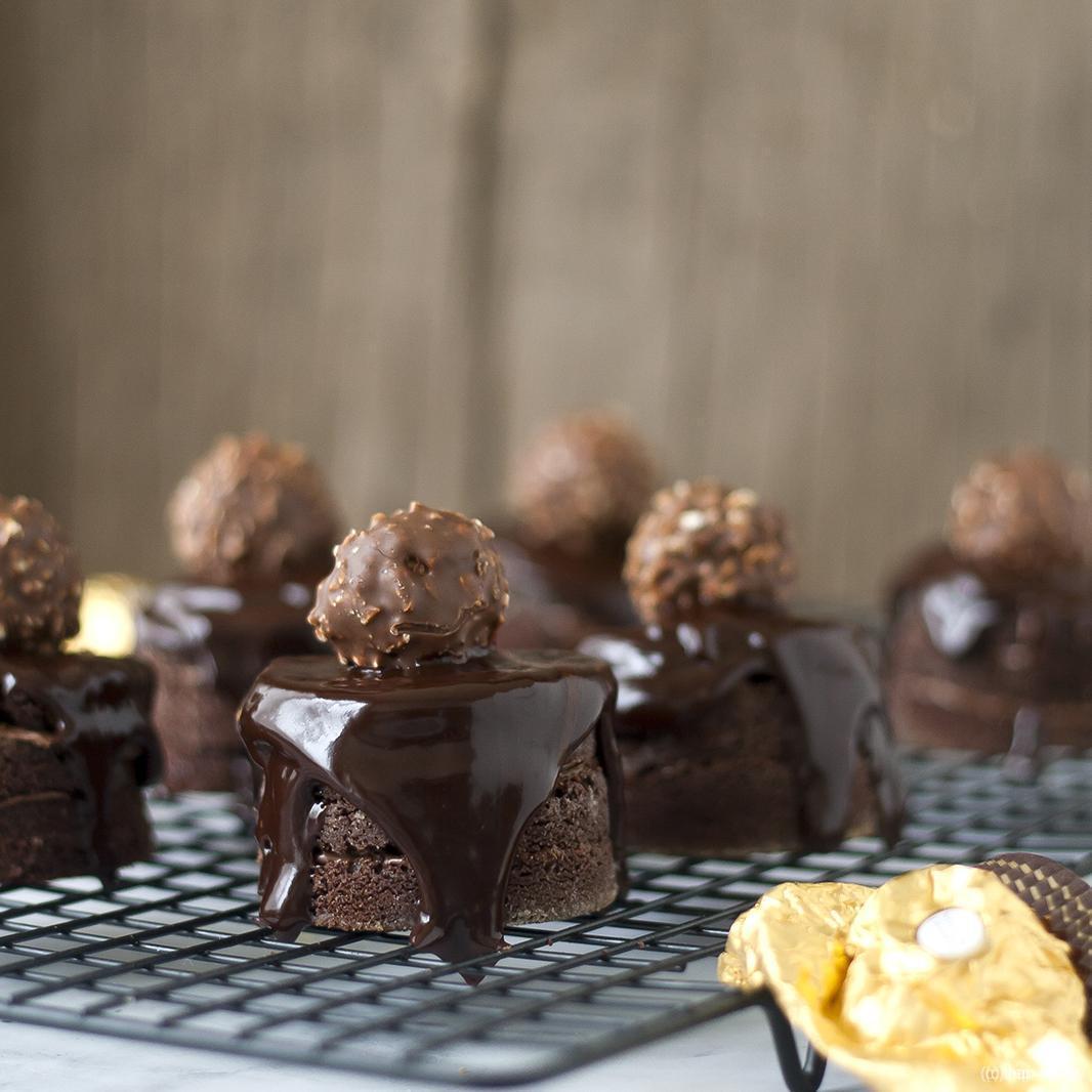 Ferrero dripcakes