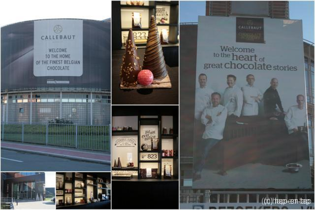 Behind the scenes: Myriam in de Callebaut chocoladefabriek