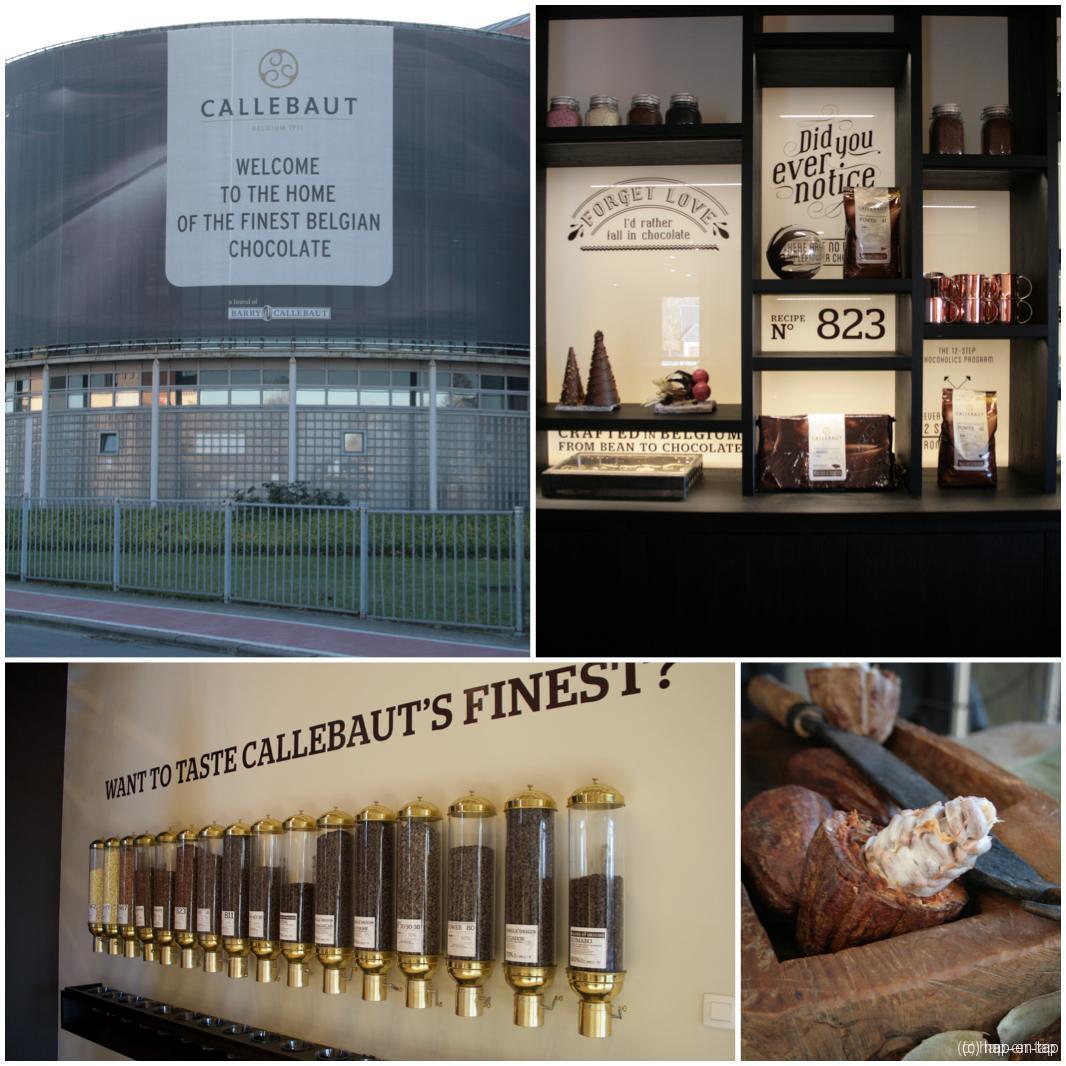 Behind the scenes: Myriam in de Callebaut chocoladefabriek