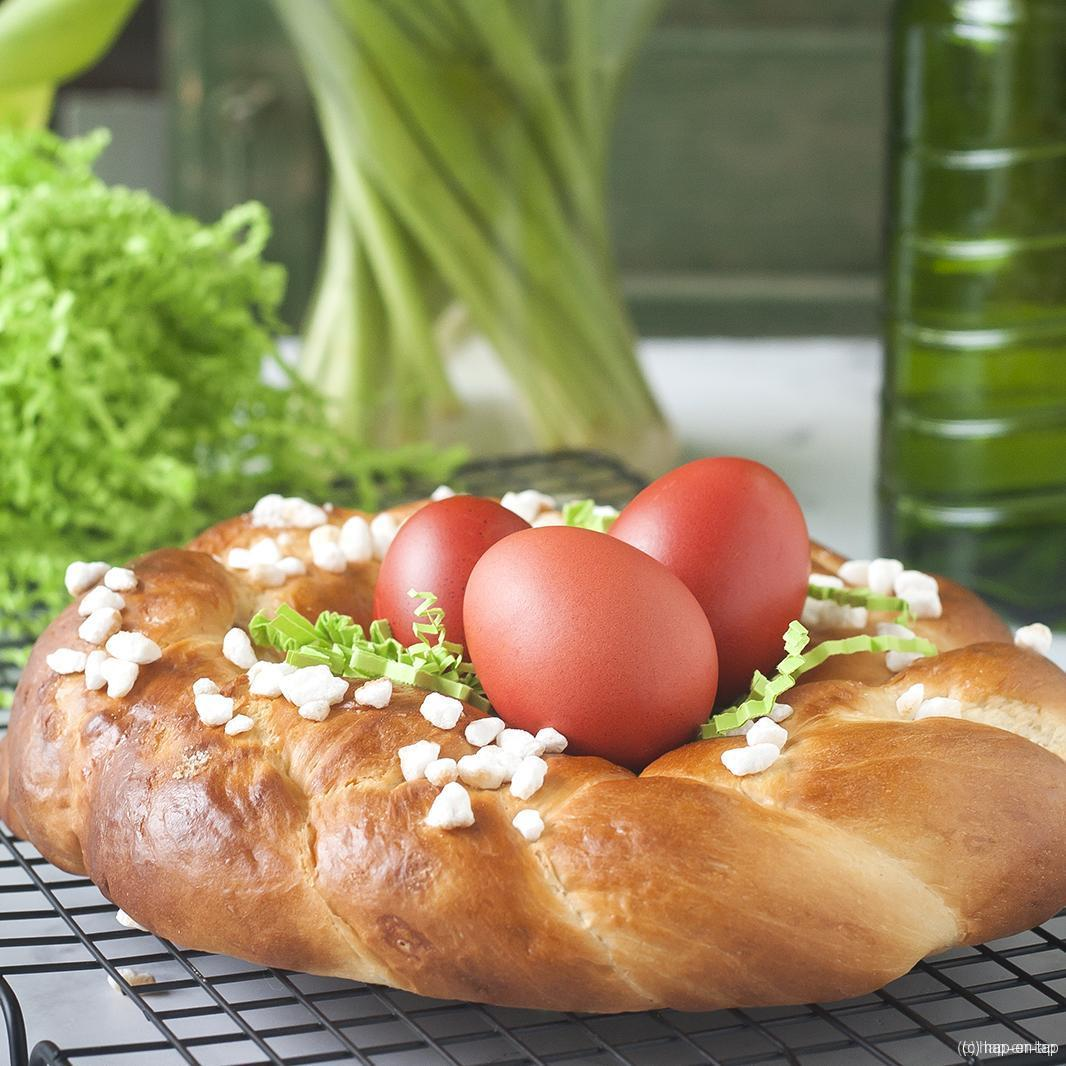 Paasnestje, hét brood voor je paasbrunch