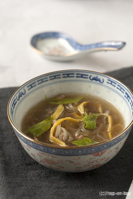 Chinese kippensoep (van Dominique Persoone)