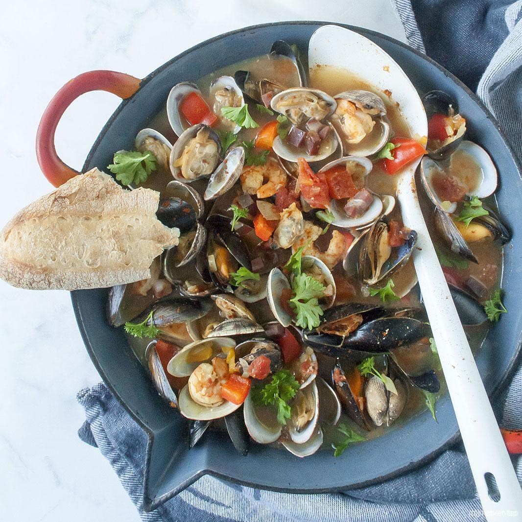 Zarzuela de Mariscos, het beste zeevruchtenstoofpotje dat er is