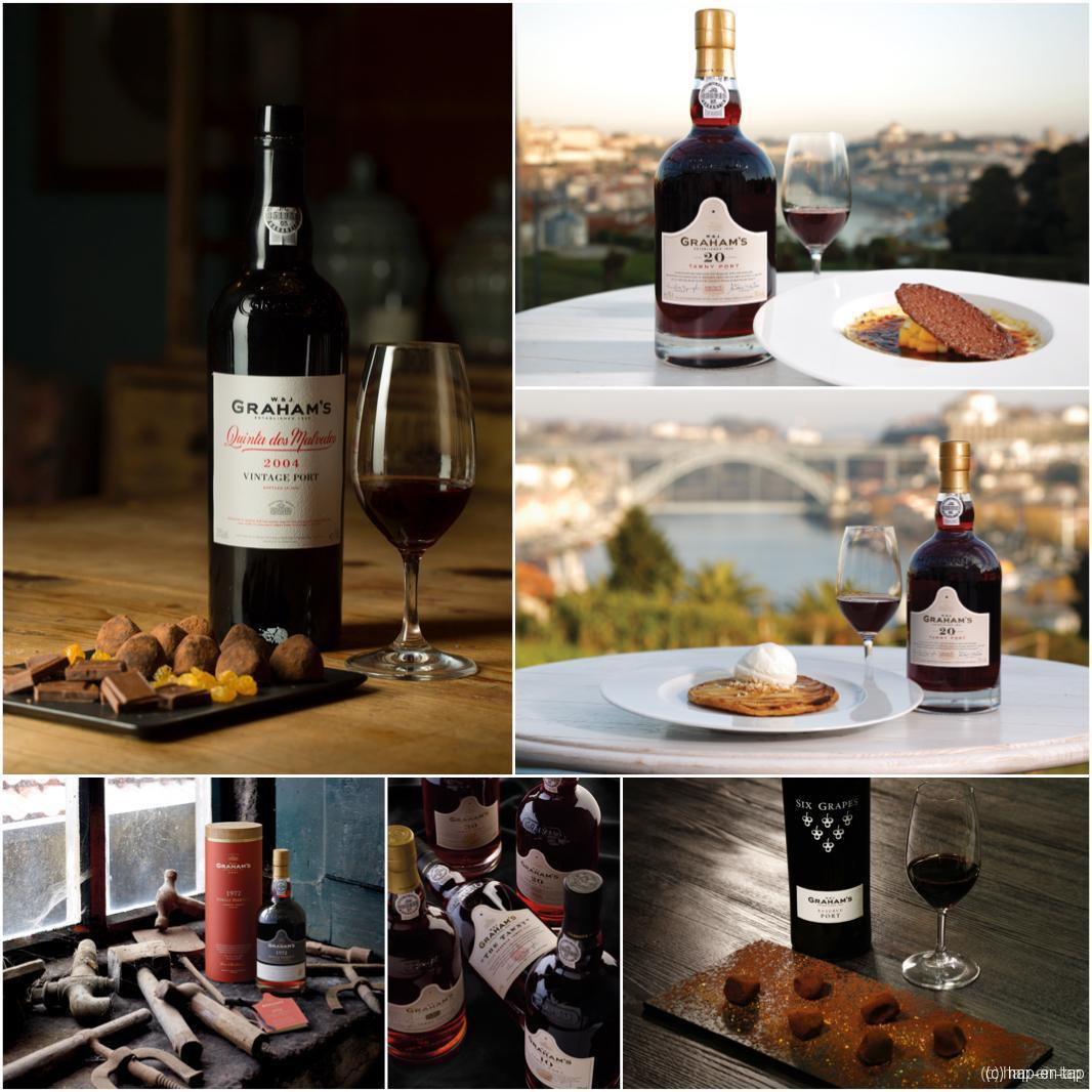Perfecte porto pairing proef je tijdens de Graham's Port Week