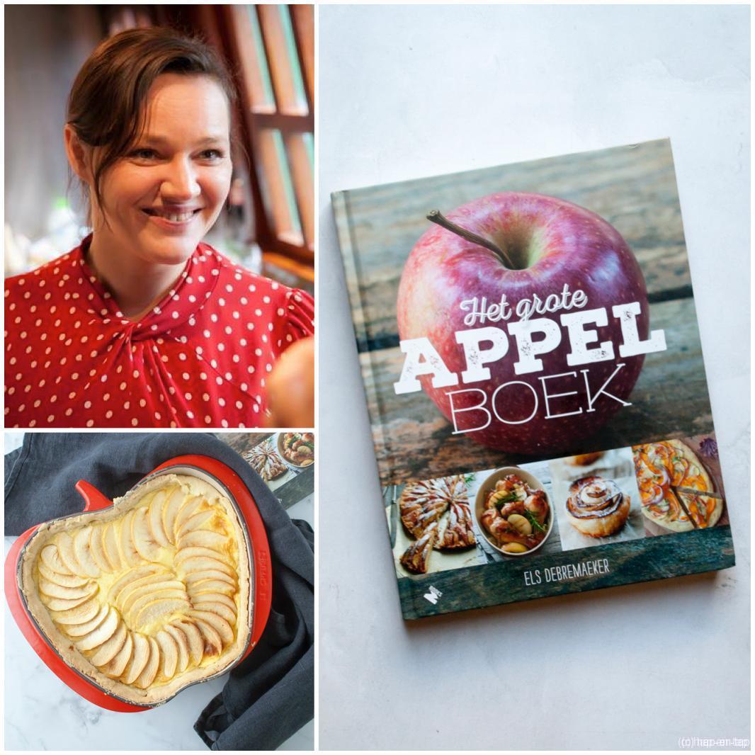 Els Debremaeker, Het Grote Appelboek + appeltaart met oranjebloesemwater