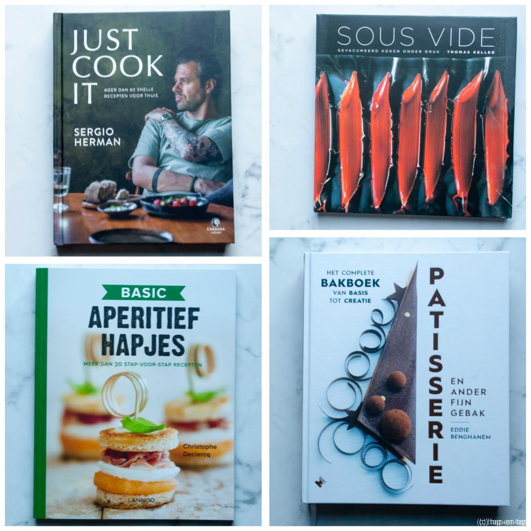 4 kookboeken voor onder de kerstboom