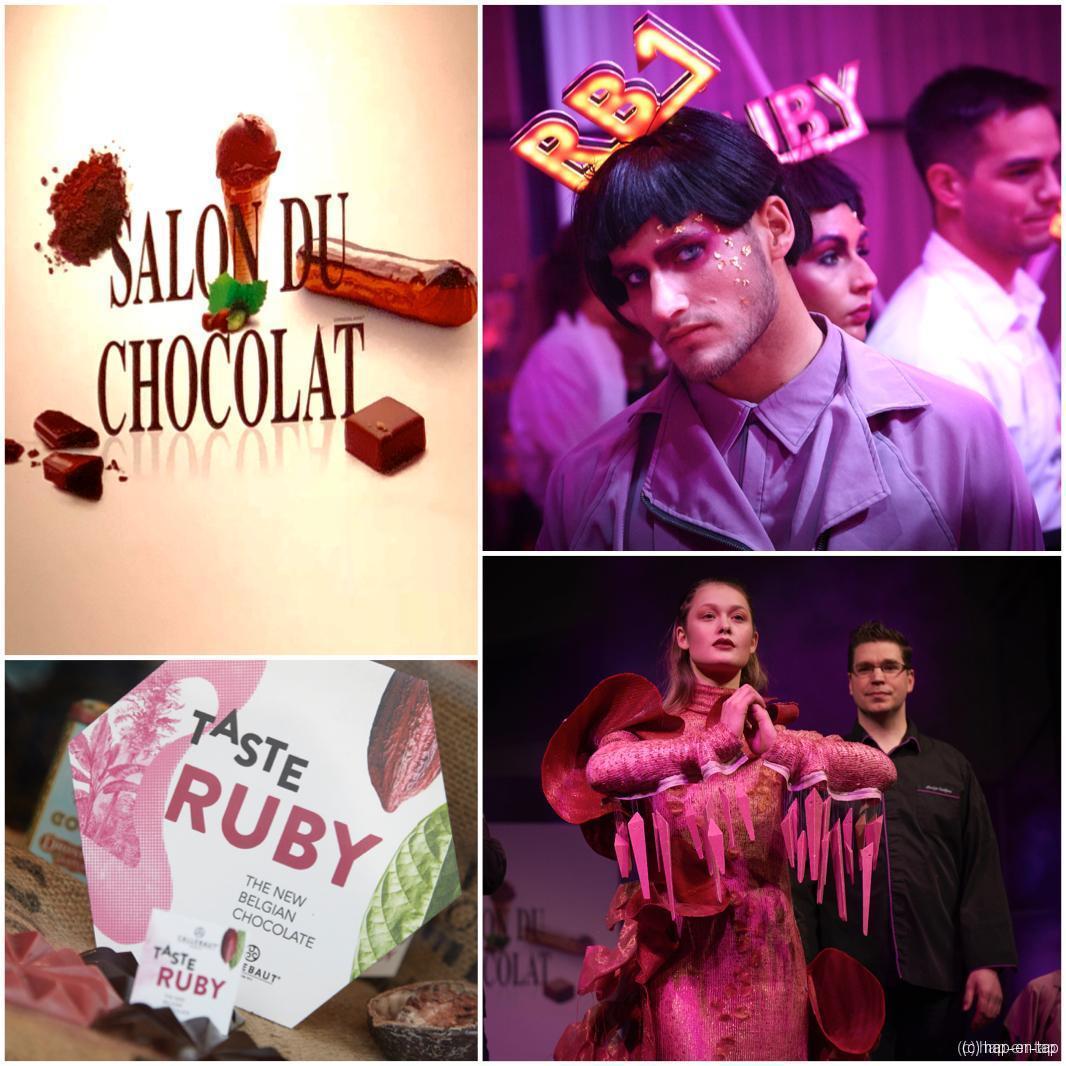 Chocoladesalon viert lustrum met een roze randje