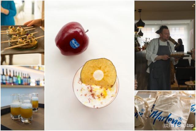 Jong Keukengeweld David Grosdent van L'Envie kookt met Marlène® appels