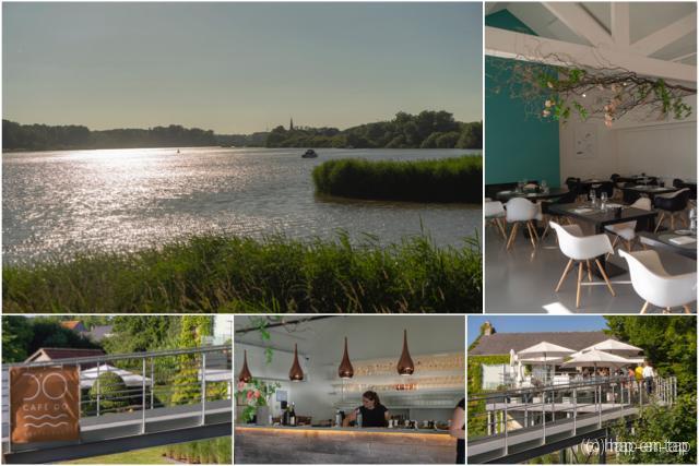 Café d'O: heerlijk dineren aan het water