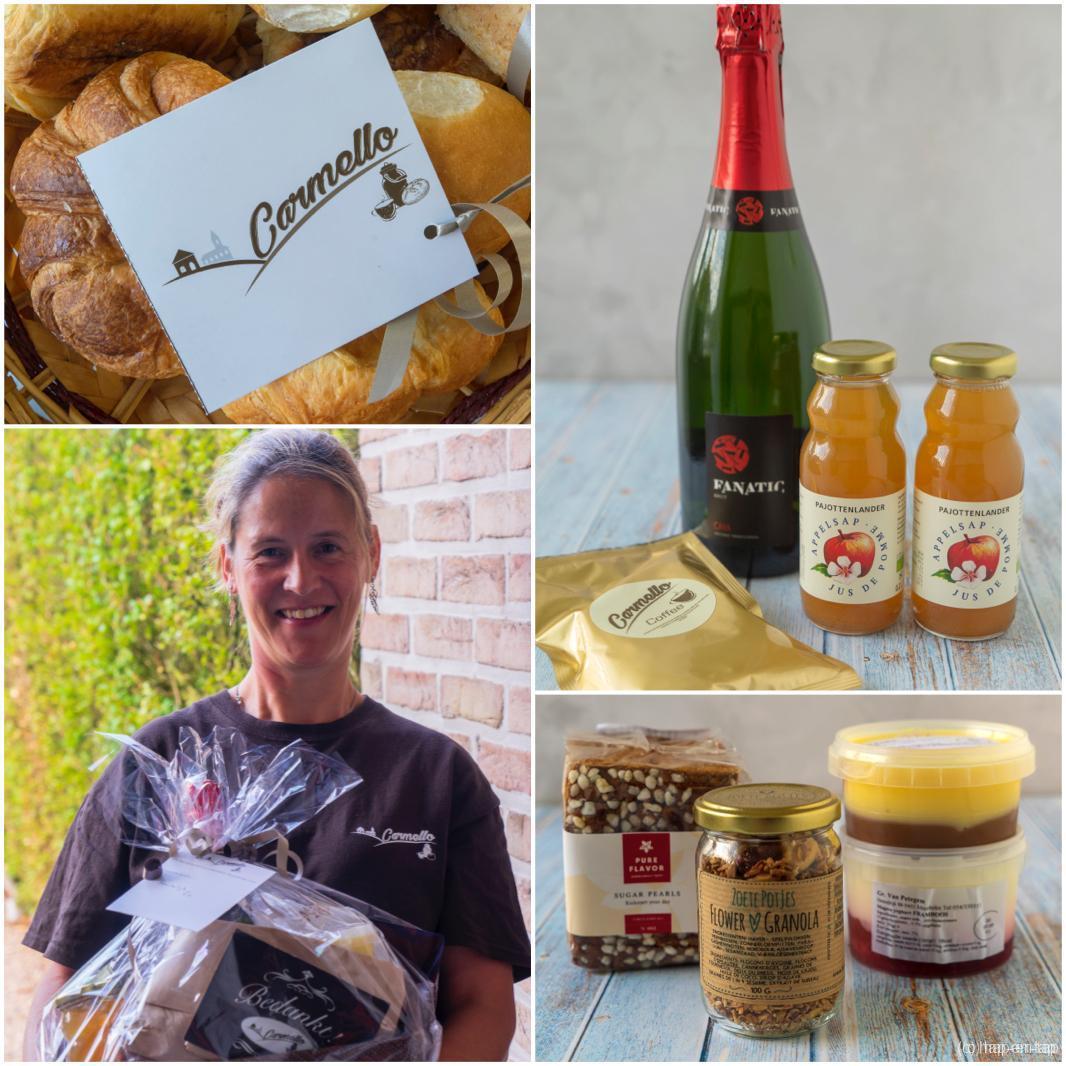 Carmello, verwenontbijt met streekproducten uit Vlaams-Brabant