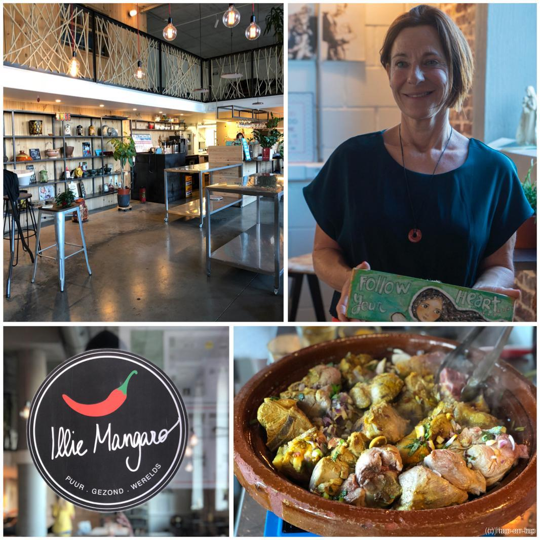 Good vibes en good food bij Illie Mangaro