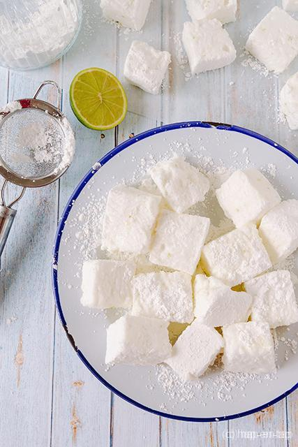 Gin-tonic marshmallows