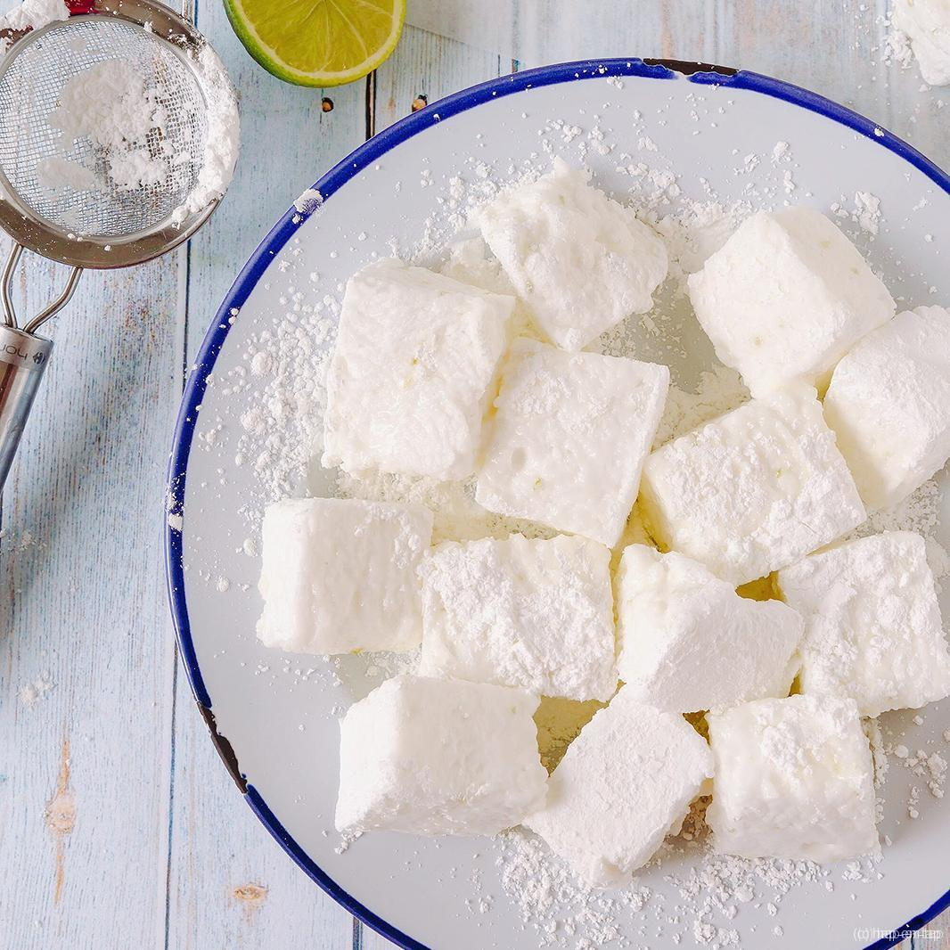 Gin-tonic marshmallows