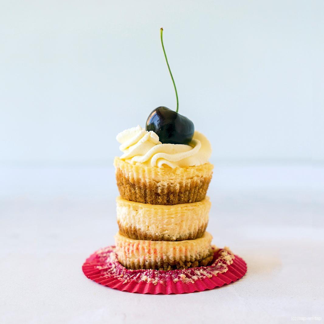 Mini cheesecakejes voor maxi plezier