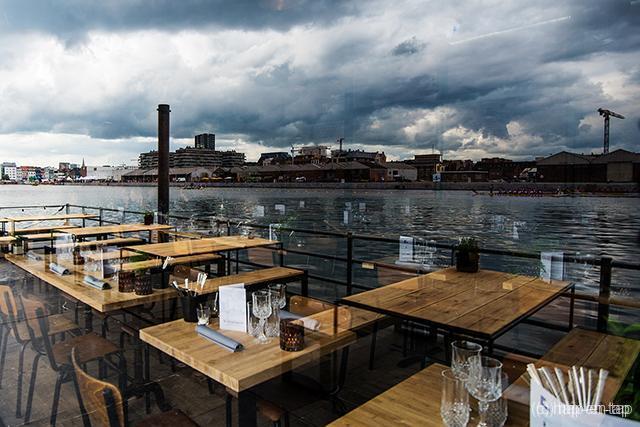 Seppe Nobels ruilt Graanmarkt 13 tijdelijk in voor culinair ponton