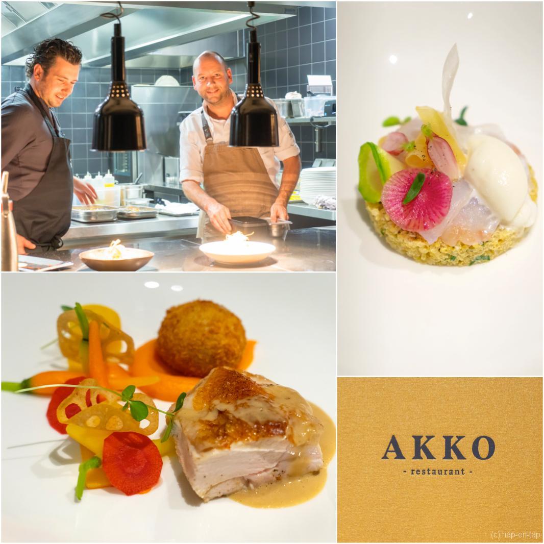 Betaalbaar gastronomisch tafelen doe je bij Akko in Bilzen