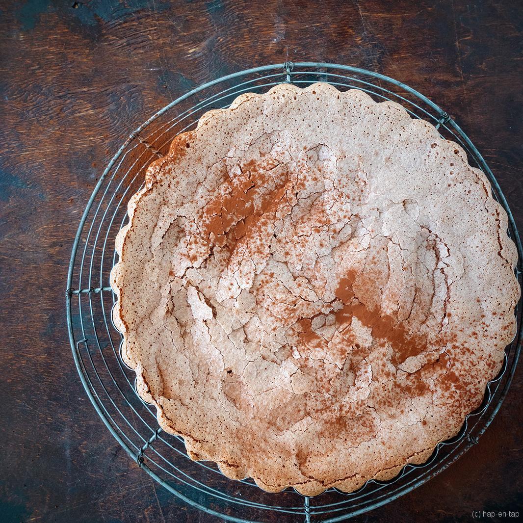Gâteau au chocolat façon macaron