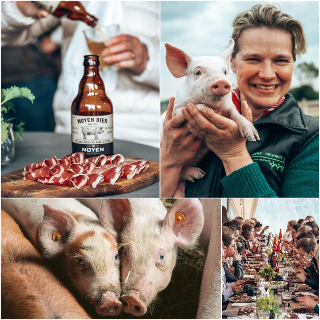 Noyen & Wim Ballieu kiezen voor schoonste boerin Mieke, allez voor haar varkensvlees