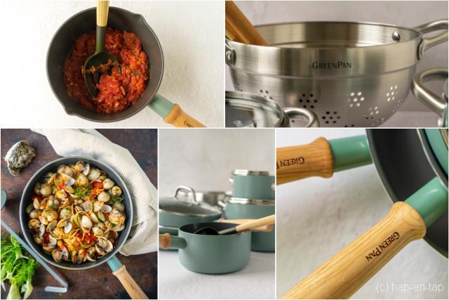 Een nieuwe keuken vraagt om nieuwe potten en pannen